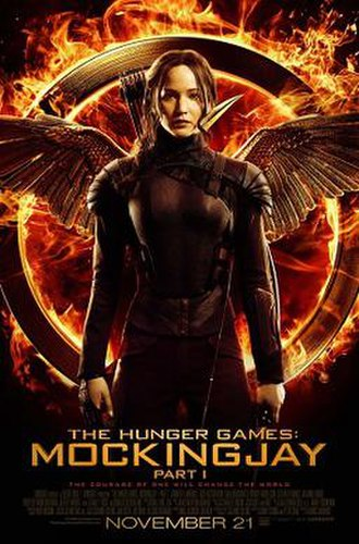 The Hunger Games: Mockingjay – Part 1 - Theatrical release poster