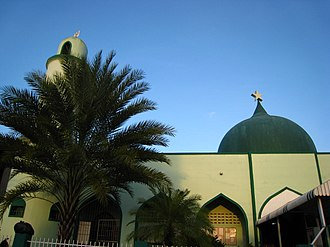 Islam in Trinidad and Tobago - A Mosque in Montrose, Chaguanas.