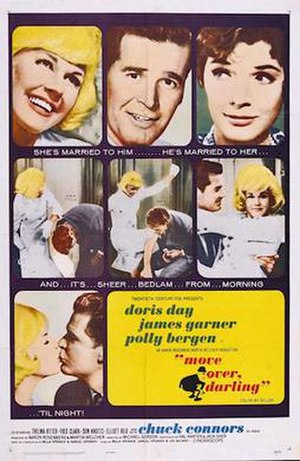 Move Over, Darling - 1963 Theatrical poster