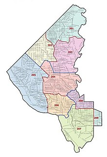 Mpdc second district map