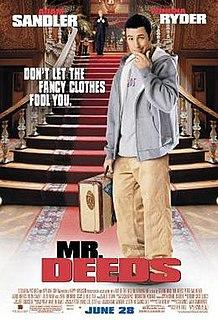 <i>Mr. Deeds</i> 2002 film by Steven Brill