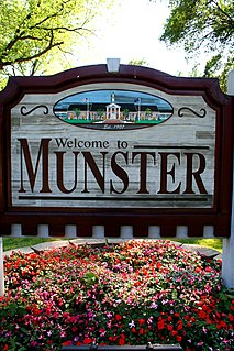 Munster, Indiana Town in Indiana, United States
