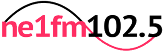 NE1fm - The NE1fm Logo launched in August 2012 and used until June 2017