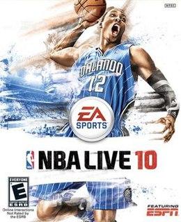 <i>NBA Live 10</i> 2009 basketball video game
