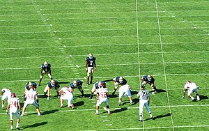 2003 Notre Dame Fighting Irish football team - Carlyle Holiday and Ryan Grant in the back field versus Washington State