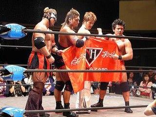New Hazard Professional wrestling stable
