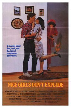 Nice Girls Don't Explode - Theatrical release poster