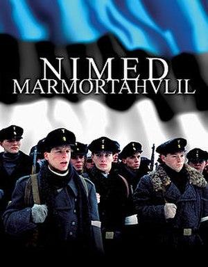 Names in Marble (film) - Image: Nimed marmortahvlil (2002)