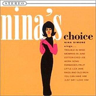 Nina's Choice - Image: Ninaschoice