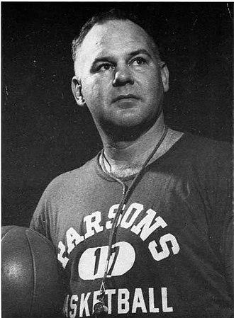 Parsons College - O.B. (Oscar Bernard) Nelson, coach