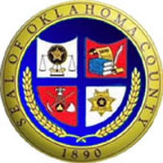 Oklahoma County, Oklahoma - Image: Oklahoma County ok seal
