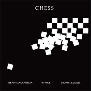 Chess (musical) - Concept Album Cover