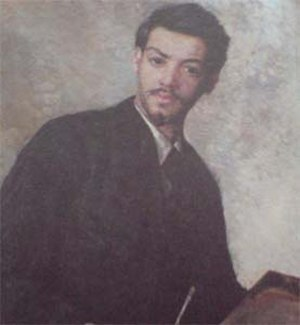 Oskar Alexander - Oskar Alexander self-portrait around 1896