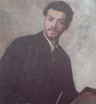 Oskar Alexander - Oskar Alexander self-portrait around 1896