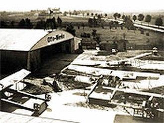 Gustav Otto - Otto Flugzeugwerke 1914