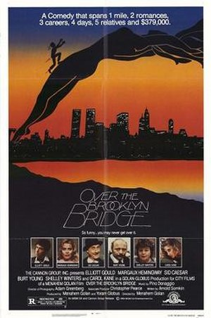 Over the Brooklyn Bridge - Image: Over the Brooklyn Bridge film poster