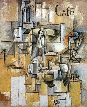 Le pigeon aux petits pois - Image: Picasso Le pigeon aux petits pois 1911