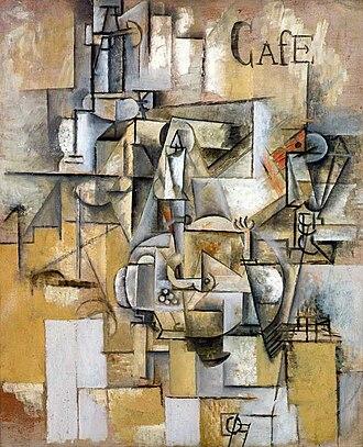Musée d'Art Moderne de la Ville de Paris - Image: Picasso Le pigeon aux petits pois 1911