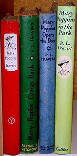<i>Mary Poppins</i> (book series) Series of childrens books by PL Travers