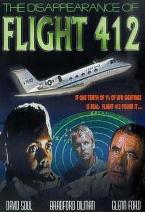 The Disappearance of Flight 412 - Image: Poster of the movie The Disappearance of Flight 412