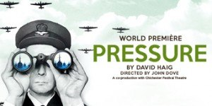 Pressure (play) - Official poster of the 2014 Lyceum production