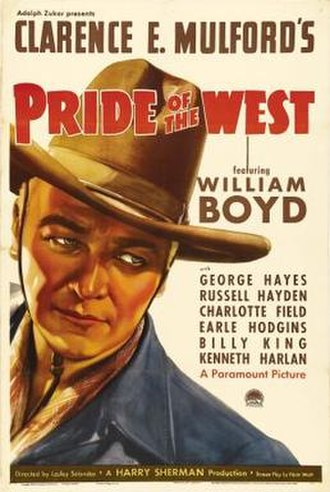 Pride of the West - Theatrical release poster