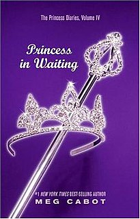 <i>The Princess Diaries, Volume IV: Princess in Waiting</i> book by Meg Cabot