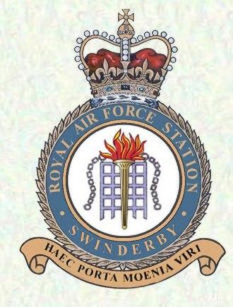 RAF Swinderby - Haec porta moenia viri (Here are the gates, the men are the walls)