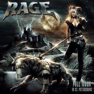 Full Moon in St. Petersburg - Image: Rage Full Moon in St. Petersburg CD cover