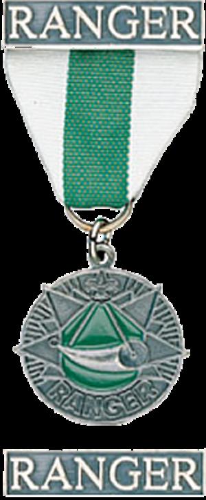 Ranger Award - Medal and bar