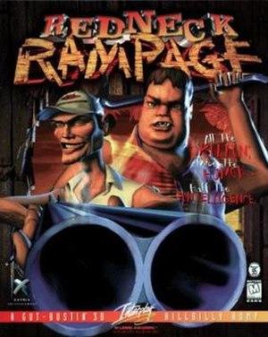 Redneck Rampage - Cover art