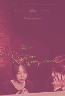<i>Right Now, Wrong Then</i> 2015 South Korean film directed by Hong Sang-soo