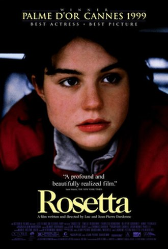 Rosetta (film) - Rosetta movie poster