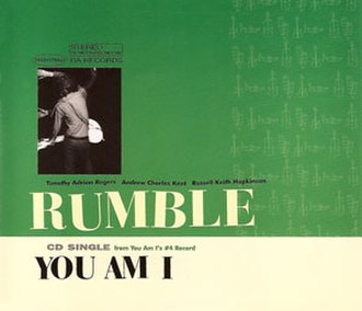 Rumble (You Am I song) - Image: Rumbleyai