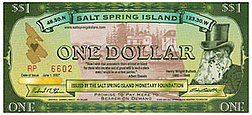 Salt Spring Island Dollar - One Dollar.jpeg