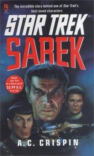 Sarek (Star Trek novel) - US First printing cover