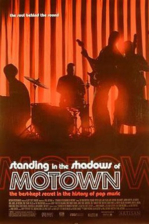 Standing in the Shadows of Motown - Theatrical release poster for Standing in the Shadows of Motown