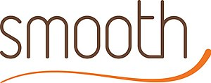 Foxtel Smooth - Original logo used when the channel was branded simply as Smooth. As with the current logo, it uses same style as that used by the radio network.