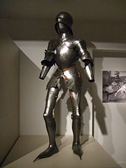 Jousting armor from the Gallery of European Cultures