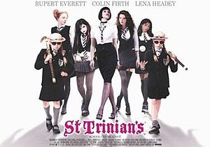 St Trinian's (film) - Theatrical release poster