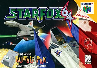 <i>Star Fox 64</i> 1997 rail shooter video game published by Nintendo