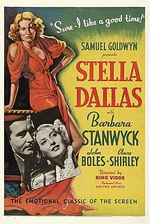 <i>Stella Dallas</i> (1937 film) 1937 film