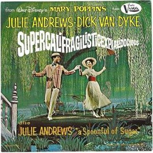 Supercalifragilisticexpialidocious - 1965 U.S. vinyl single