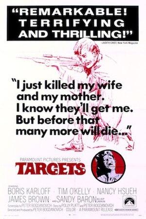 Targets - Original movie poster