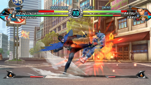 Tatsunoko vs. Capcom: Ultimate All-Stars - Image: Tatsunoko vs Capcom Gamefight