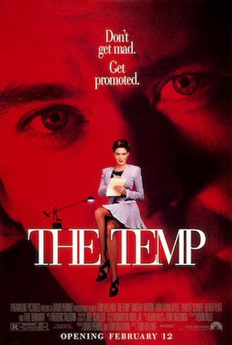 The Temp (film) - Theatrical Release Poster
