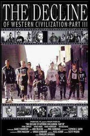The Decline of Western Civilization III - The theatrical poster