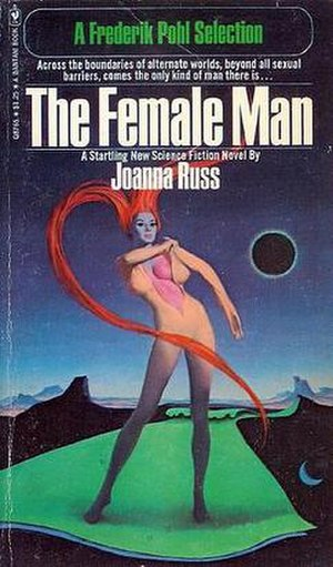 The Female Man - Cover of first edition (paperback)