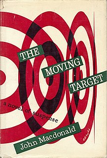 <i>The Moving Target</i> novel by Ross Macdonald