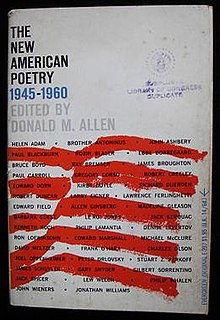 The New American Poetry 1945–1960 - Wikipedia